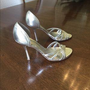 ALDO Gold Leather Sandal Sz.8